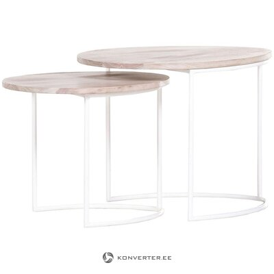 Sofa table set 2-piece (ludwig) (whole, hall sample)