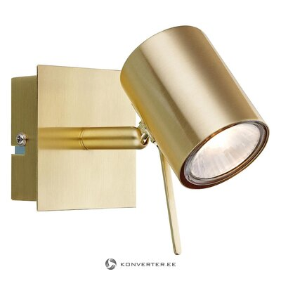 Golden led wall lamp (markslöjd) (whole, in box)