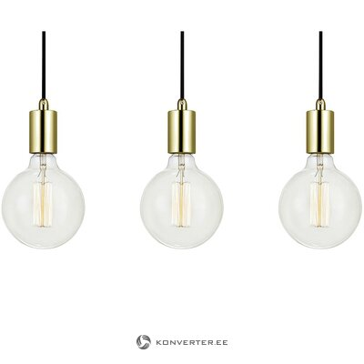 Gold-black pendant light (markslöjd) (whole, in box)
