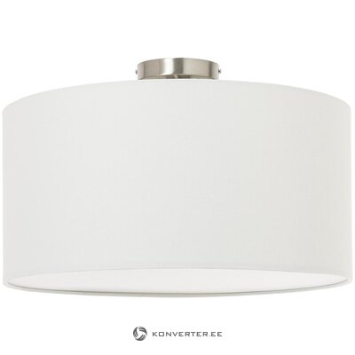White ceiling lamp (swearing) (with defect, in a box)