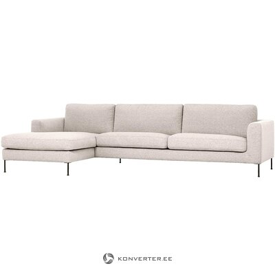 Beige corner sofa (cucita) (whole, in box)