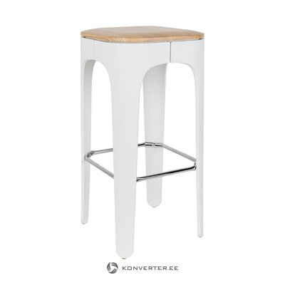 Bar stool (white label living) (whole, in box)