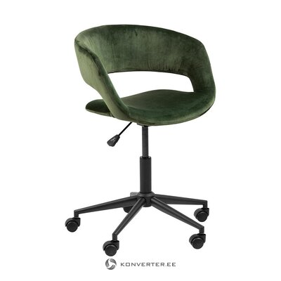 Black-green office chair (grace)