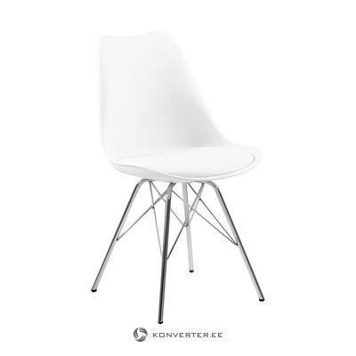 White design chair (actona)