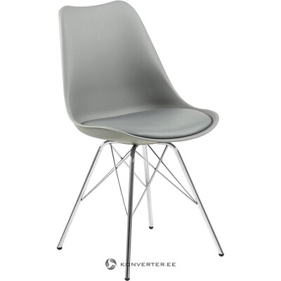 Gray-silver chair (actona) (whole, hall sample)