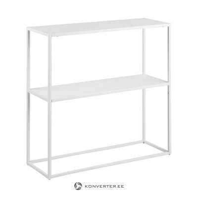 White metal console table (actona) (in box, whole)