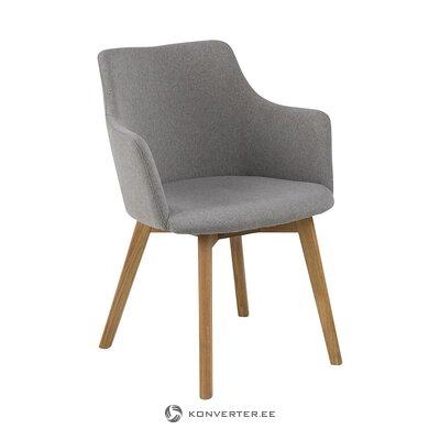Light gray chair (actona) (whole, hall sample)