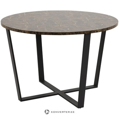 Marble imitation dining table (actona)