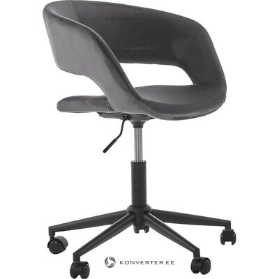 Gray-black office chair (actona) (with flaws., Hall sample)
