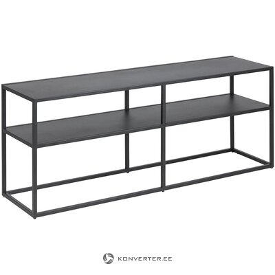 Metal black TV stand (actona) (whole, in box)