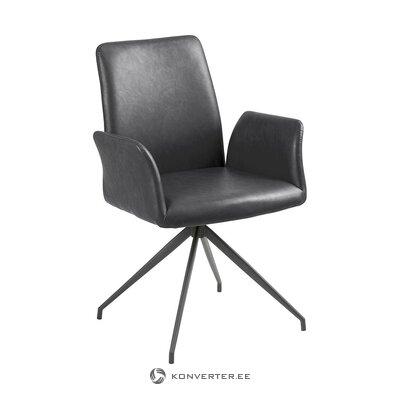 Leather swivel chair (actona) (intact, hall sample)
