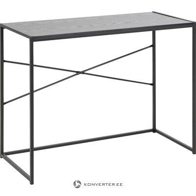 Black desk (actona) (whole, in a box)