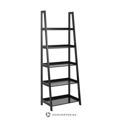 Black ladder shelf (actona) (with defects., Hall sample)