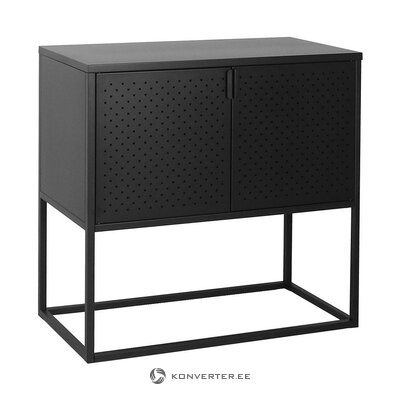 Metal black cabinet (actona) (whole, in a box)