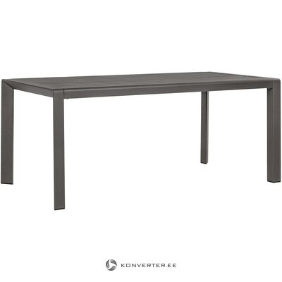 Light gray garden table (bizzotto) (with flaws hall sample)
