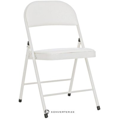 Beige ontaitettava tuoli (bizzotto) (näyte salista pieni kauneusvirhe)