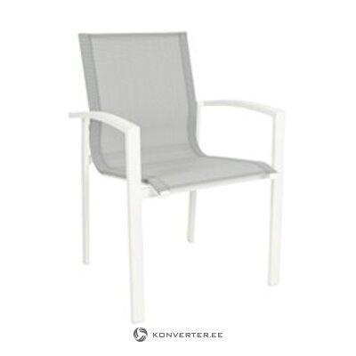 Белый садовый стул (атлантический) (целый, в коробке)