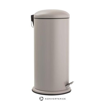 Beige trash can (bloomingville) (with flaw, hall sample)