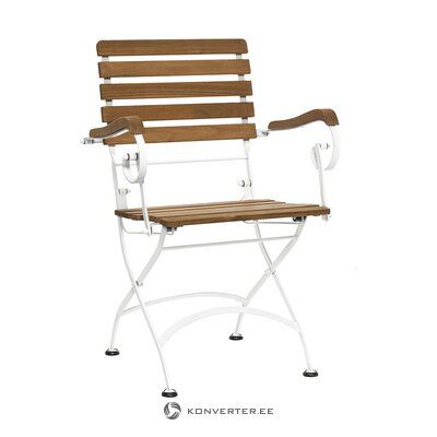 Folding garden chair (butlers) (with defect, hall sample)