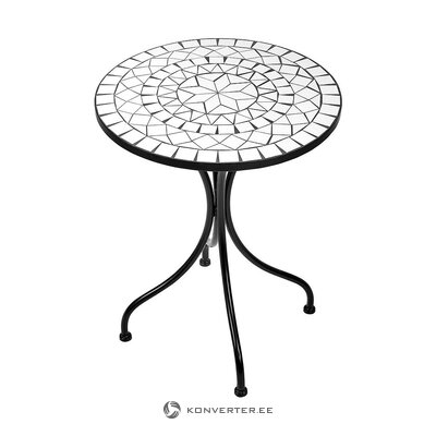 Mosaic garden table (butlers)