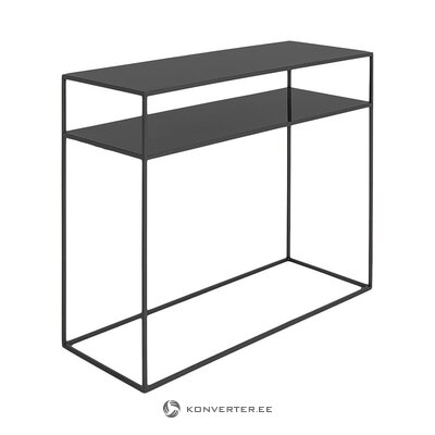 Black console table (customform)