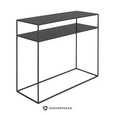 Black console table (customform) (hall sample)