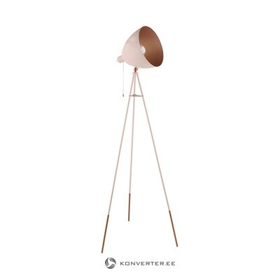 Pink floor lamp (eglo) (whole, in a box)