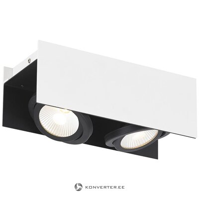 Black and white led spotlight (eglo)