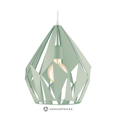 Light green pendant light (eglo)