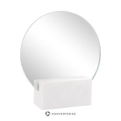 Зеркало на мраморной основе (восьмое настроение) (цельное холл образец)