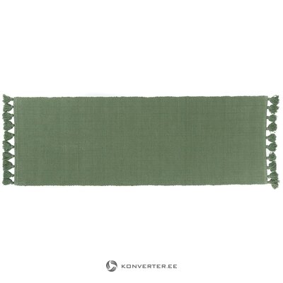 Green narrow carpet (eightmood) (in box, whole)