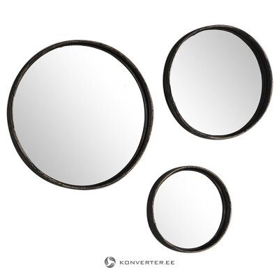 Wall mirror set 3-part (gallery direct) (whole, in box)