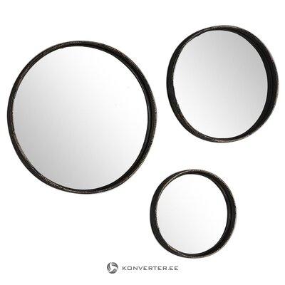 Sienas spoguļu komplekts 3-daļīgs (tiešā galerija) (vesels, kastē)