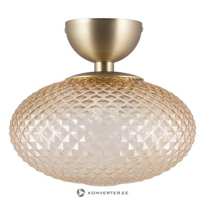 Glass design ceiling lamp (globen lighting) (whole, in box)