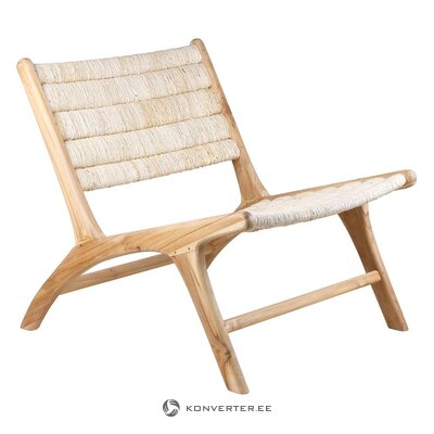 Teak design chair (hkliving)
