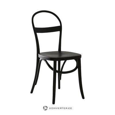 Black chair (jotex) (hall sample, whole)