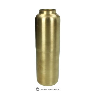 Gold flower vase (chimney) (whole, in a box)