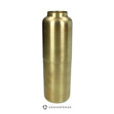 Kultainen kukkamaljakko (savupiippu) (kokonainen, laatikossa)