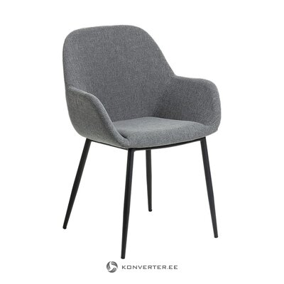 Dark gray chair (la forma) (whole, in box)