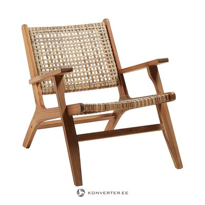 Solid wood garden chair (laforma) (whole, in box)