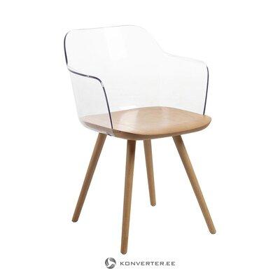 Dizaina krēsls (la forma) (ar defektiem zāles paraugs)