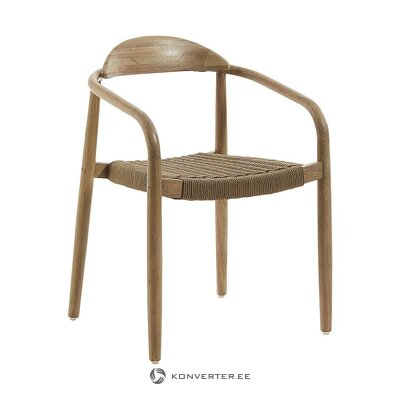 Solid wood design chair (la forma) (defective., Hall sample)