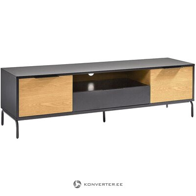 Black-brown TV cabinet (la forma) (in box, whole)