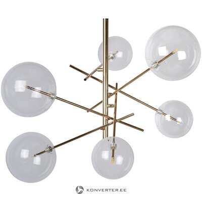 Glass ceiling lamp (lucide)