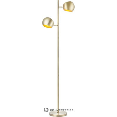 Golden floor lamp (markslöjd) (in box, whole)