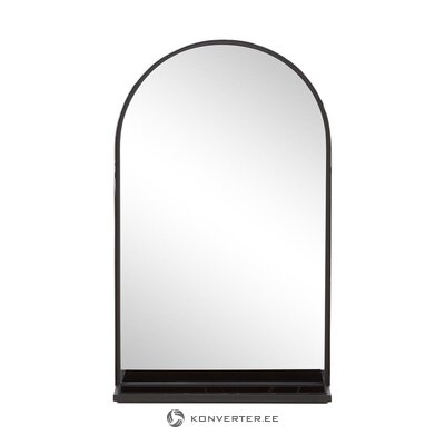 Wall mirror with shelf (nordal)
