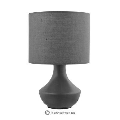 Маленькая серая настольная лампа (nova luce) (образец)