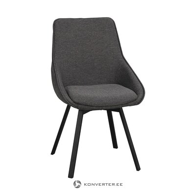 Gray soft chair (rowico) (intact sample)