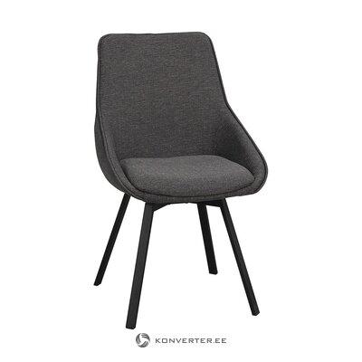 Harmaa pehmeä tuoli (rowico) (ehjä näyte)