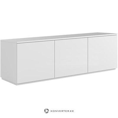 Balta televizoriaus spintelė (temahome)